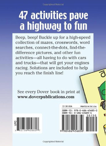 Little Cars and Trucks Activity Book (Dover Little Activity Books)
