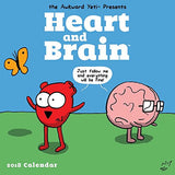 Heart and Brain 2018 Wall Calendar