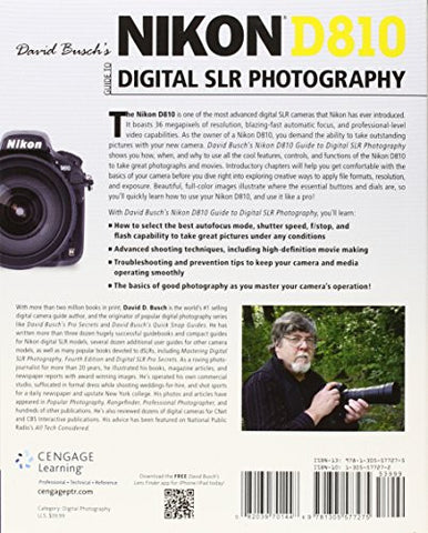 David Busch's Nikon D810 Guide to Digital SLR Photography