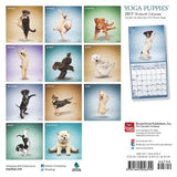 Yoga Puppies 2017 Mini 7x7 (Multilingual Edition)