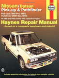 Nissan / Datsun Pickup '80'97, Pathfinder '87'95 (Haynes Repair Manuals)