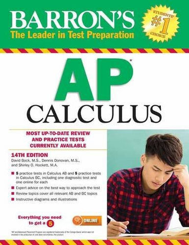 Barron's AP Calculus, 14th Edition