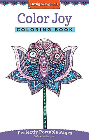 Color Joy Coloring Book: On-The-Go!
