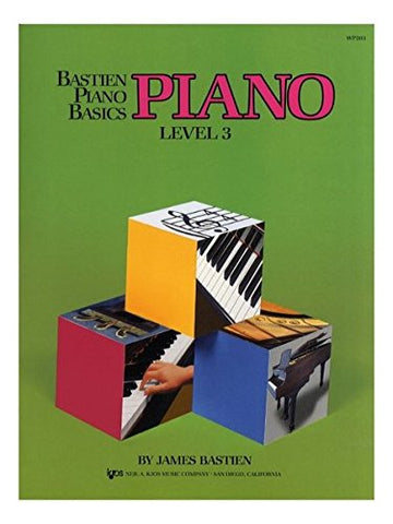 WP203 - Bastien Piano Basics - Piano Level 3