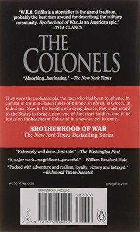 The Colonels (Brotherhood of War, Book 4)