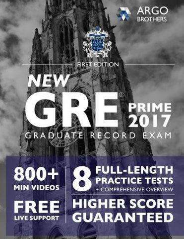 GRE Prep 2017 with 8 Practice Tests: Test Prep (Argo Brothers)