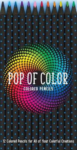 Pop of Color Pencil Set: 12 Colored Pencils for all your Colorful Creations