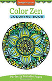 Color Zen Coloring Book: On-The-Go! (On-The-Go! Coloring Book)