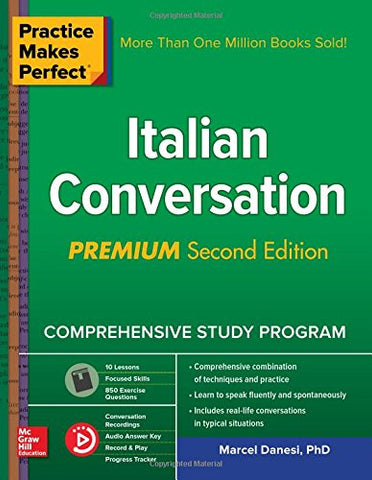 Practice Makes Perfect: Italian Conversation, Premium Second Edition