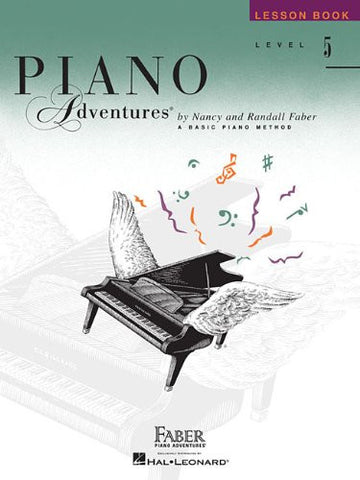 Level 5 - Lesson Book: Piano Adventures (The Basic Piano Method)