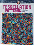 Dover Creative Haven Tessellation Patterns Coloring Book (Adult Coloring)