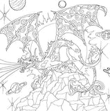 Dragons Adult Coloring Book (31 stress-relieving designs) (Studio Series: Artist's Coloring Book)