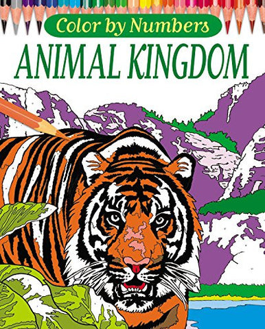 Color by Numbers: Animal Kingdom (Arcturus Coloring Books)