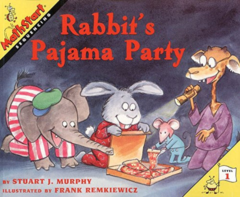 Rabbit's Pajama Party (MathStart 1)