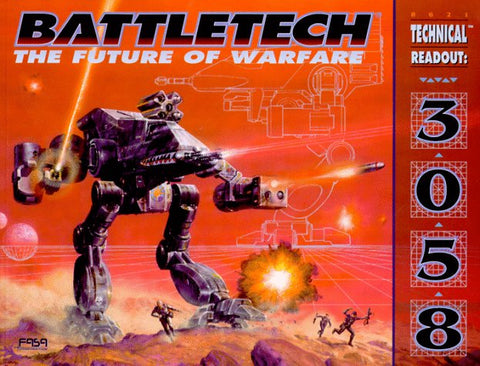 BattleTech: The Future of Warfare: Technical Readout 3058