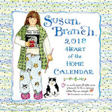 2018 Susan Branch Heart of the Home Wall Calendar