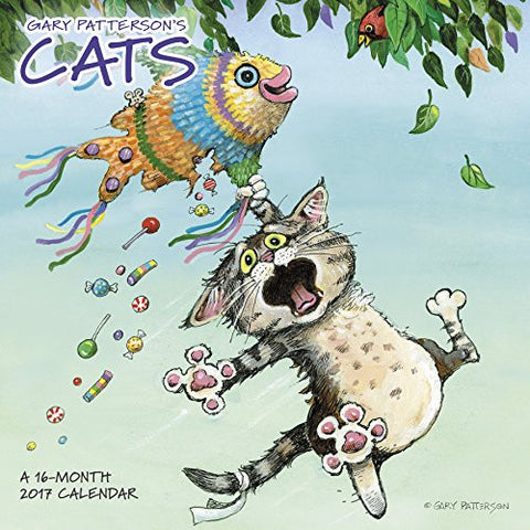Gary Patterson's Cats Wall Calendar (2017)