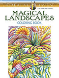 Creative Haven Magical Landscapes Coloring Book (Adult Coloring)