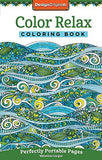 Color Relax Coloring Book: Perfectly Portable Pages (On-The-Go Coloring Book)