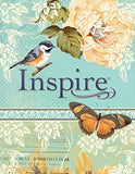 Inspire Bible NLT: The Bible for Creative Journaling