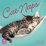 Cat Naps 2018 Wall Calendar (CA0114)
