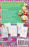 Emoji Crazy Coloring Book 30 Cute Fun Pages: For Adults, Teens and Kids Great Party Gift (Travel Size) (Officially Licensed Emoji Coloring B