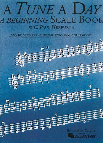 A Tune a Day - Violin: Beginning Scales (Music Sales America)