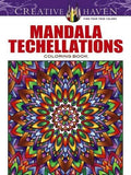 Creative Haven Mandala Techellations Coloring Book (Adult Coloring)