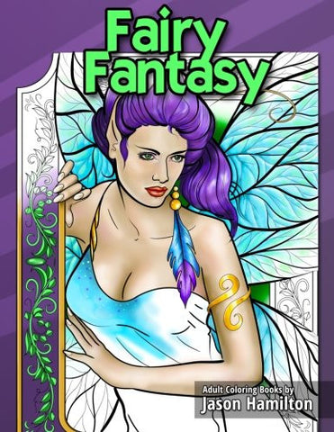 Fairy Fantasy: Adult Coloring Book
