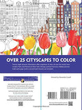 Creative Haven CityScapes: A Coloring Book with a Hidden Picture Twist (Adult Coloring)