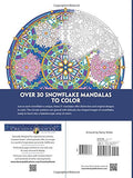 Creative Haven Snowflake Mandalas Coloring Book (Adult Coloring)
