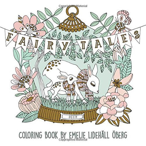"Fairy Tales Coloring Book: Published in Sweden as ""Sagolikt"""