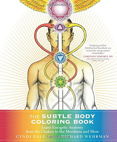 The Subtle Body Coloring Book: Learn Energetic Anatomy--from the Chakras to the Meridians and More
