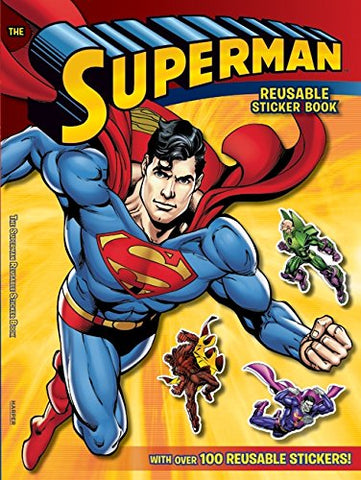 Superman Classic: The Superman Reusable Sticker Book