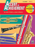 Accent on Achievement, Bk 2: B-flat Clarinet, Book & CD