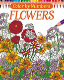 Color By Numbers - Flowers (Chartwell Coloring Books)