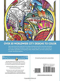 Creative Haven Circular Cities Coloring Book (Adult Coloring)