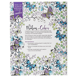 """The Psalms in Color"" Inspirational Adult Coloring Book"