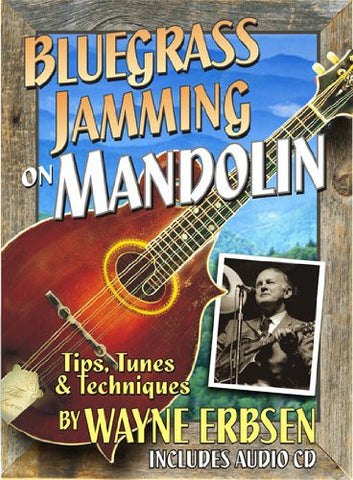 Bluegrass Jamming on Mandolin (Book & CD set)
