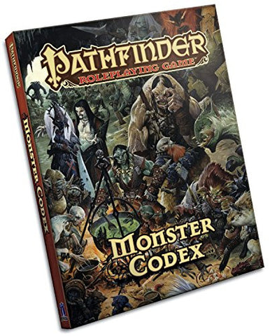 Pathfinder Roleplaying Game: Monster Codex