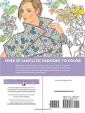 Creative Haven Fantasy Fashions Coloring Book (Adult Coloring)