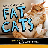 2017 Fat Cats Wall Calendar