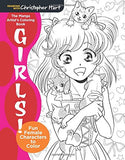 The Manga Artist's Coloring Book: Girls!: Fun Female Characters to Color (Drawing with Christopher Hart)