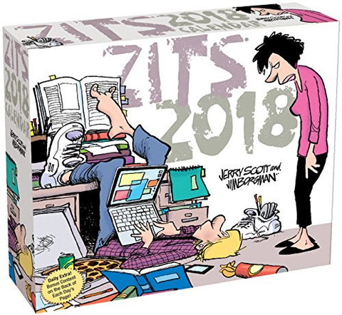 Zits 2018 Day-to-Day Calendar