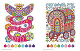 Free Spirit Coloring Book (Coloring Is Fun)
