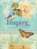 Inspire Bible Large Print NLT: The Bible for Creative Journaling