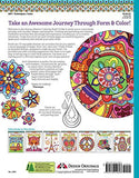Groovy Abstract Coloring Book (Design Originals) (Coloring Is Fun)