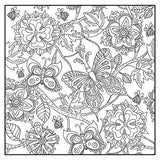 Botanical Garden Adult Coloring Book Set With 24 Colored Pencils and Pencil Sharpener Included: Color Your Way To Calm