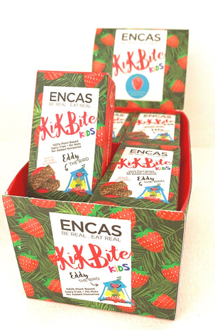 KiKBiTe Kids - STRAWBERRY - 12 Boxes