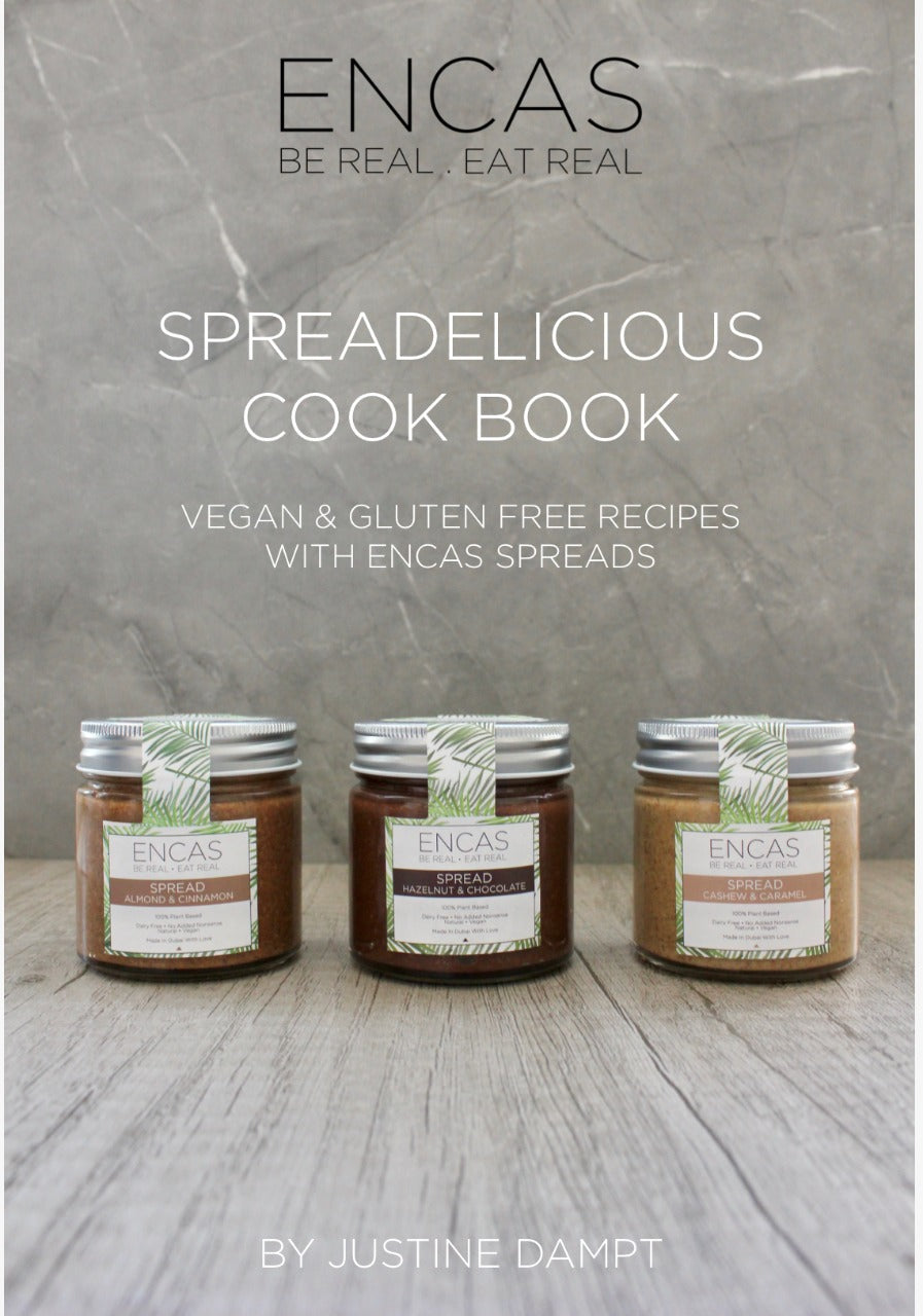 Spreadelicious! VEGAN & GLUTEN FREE RECIPES WITH ENCAS SPREADS